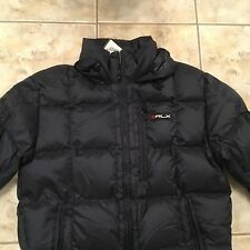 RALPH LAUREN POLO RLX MEN WINTER SPORT DOWN COAT PUFFER JACKET Navy sz MEDIUM Ne