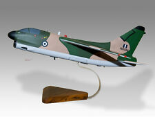 LTV A-7E Corsair II Greek Hellenic Air Force Wood Desktop Airplane Model