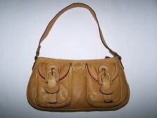 "BORSA ""TIMBERLAND"" SHOULDER LEATHER BAG MADE IN ITALY 100%"