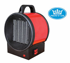 Prem-I-Air Garage/Workshop Safe Steel 2kW Electrical Blow Fan Heater