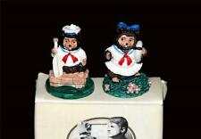 2 Robert RAIKES Mini Bears SAM & LUCY Nautical Set NIB Retired HTF Collectible