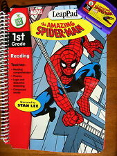 LeapPad The Amazing Spider-Man 1st Grade by LeapFrog Book + Cartridge