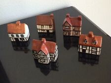 SUFFOLK COTTAGES Set of 5 Made in England for AROUND THE CORNER Hollywood CA