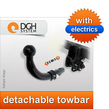 Detachable towbar Mercedes C-Class W203 saloon 2000/2007 + electric kit