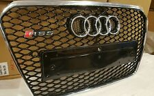 AUDI RS5 GRILL A5 TO RS5 S5, High quality, 2012 + FACELIFT NEW SHAPE, chrome trm