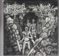 """MORBOSIDAD / MANTICORE - invocation of the war beasts - split EP  7"""""""