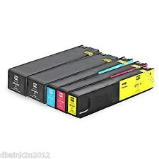 5 Pack HP 970XL 971XL Ink Cartridges For OfficeJet Pro X476dn X476dw