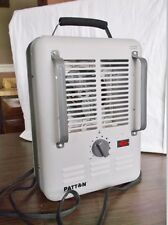 Nice Working PATTON Portable Radiant Space Heater - Thermostat, Forced Air