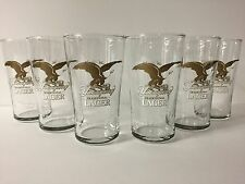 Yuengling Lager 16 oz Beer Glass - Set of Six (6) English Pub Glasses NEW