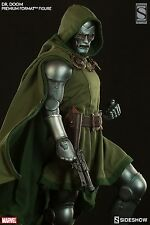 "SIGNED ""STAN LEE"" SIDESHOW Dr DOOM PREMIUM FORMAT EXCLUSIVE STATUE FANTASTIC 4"