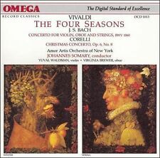 Vivaldi: The Four Seasons/Bach: Concerto in C minor for Violin, Oboe and Strings