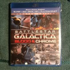 Battlestar Galactica: Blood Chrome Blu-ray/DVD 2013 2-Disc Set W/ Digital Copy