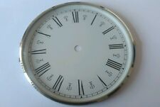 Chrome Clock Bezel and Glass 160mm Roman Dial