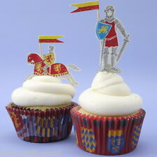 Brave Knights Cupcake Cases & Toppers
