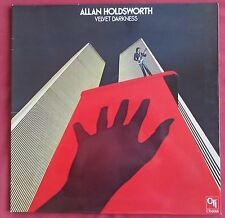 ALLAN HOLDSWORTH  LP ORIG UK   VELVET DARKNESS   CTI