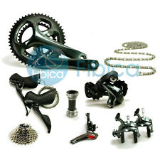 New 2016 Shimano Tiagra 4700 Road Full Groupset Group 2x10-speed 170mm