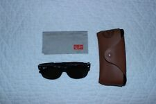 Ray Ban Men's Gradient New Wayfarer Black Wayfarer Sunglasses Polarized