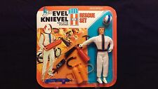 Ideal Evel Knievel King of the Stuntmen Rescue Set (Mint)
