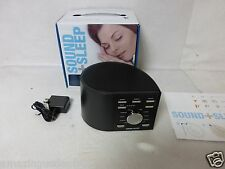 Ecotones Sound + Sleep Machine - Natural Sounds & White Noise - ASM1002
