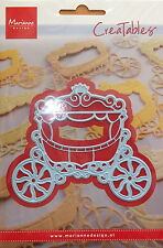Marianne creatables Die Cut - Princess Carriage - craft, card making,0302