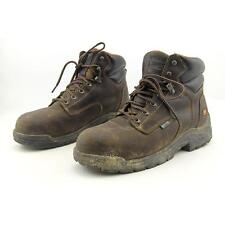 Timberland Pro TiTAN EH Composite Men US 9 Brown Pre Owned Blemish  1859