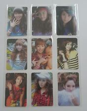 SNSD Girls Generation Oh! Official Photo Card Set (9) Lot Taeyeon Yoona Jessica+