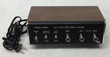 Vintage REALISTIC Model SA-10 Solid State Stereo Amplifier - Looks & Works Great