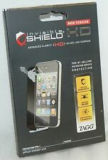 Zagg Invisible-Shield for Apple iPHONE 4 & 4S HD Clarity Screen Protector -NEW-