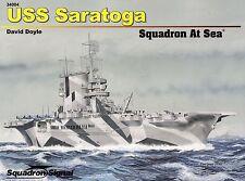 20348/ Squadron Signal - At Sea 4 - USS Saratoga - TOPP HEFT