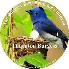 Burgess Bird Book for Children Thornton Burgess Audiobook unabridged 6 Audio CDs