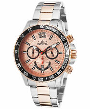 Invicta 15615 Men's Specialty Two-Tone Stainless Steel Rose-Tone Dial