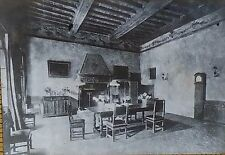 Villa Palmieri Dining Room, Fiesole, Florence, Italy, Magic Lantern Glass Slide