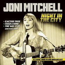JONI MITCHELL - NIGHT IN THE CITY/RADIO BROADCAST 1968  CD NEU