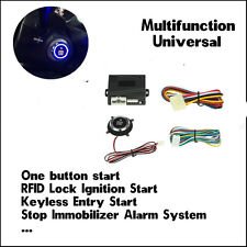 Smart Remote Keyless Auto Car Module Engine Entry Start Stop Push Button Switch