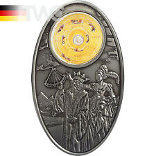 Fiji 2012 10$ Apocalypse III 2012 - Almagest & Ptolemy Satined Silver Coin
