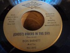 SURF INSTRUMENTAL 45...DON BARNETT...GHOST RIDERS IN THE SKY...MEDALLION