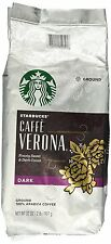 Starbucks Verona Dark Ground Coffee 12 oz. BUY 3+ GET FREE REFILLABLE POD