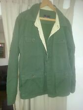 Mens SHERWOOD FOREST MID LENGTH JACKET COTTON GREEN