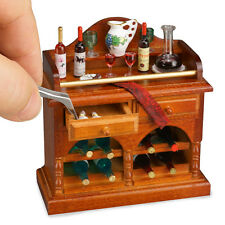 Reutter Porzellan Kleine Bar Decorated Wine Buffet Puppenstube 1:12 Art. 1.788/1