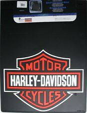 2 Harley Davidson HD dually dump truck pickup 18x24 mud guard flap mudflap pair