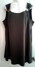 Croft & Barrow Semi Sheer Tunic Swimsuit Cover Up Size XL