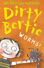Dirty Bertie / Worms! by Alan MacDonald (Paperback, 2006)