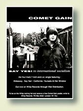 Comet Gain Say Yes To International Socialism Poster