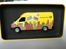 1:43 Mercedes Sprinter Deutsche Post James Rizzi Metal box