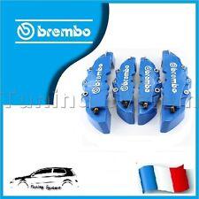 CACHE ETRIER DE FREIN BREMBO 3D UNIVERSEL BLEU TUNING VOLKSWAGEN CORRADO G60
