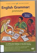 English Grammar: Pronouns (DVD) Video Aided Instruction 1573851051