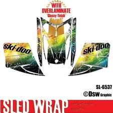 SLED WRAP DECAL STICKER GRAPHICS KIT FOR SKI-DOO REV MXZ SNOWMOBILE 03-07 SL6537