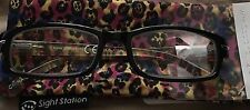 Sight Station Ladies Fun Reading Glasses with Cover