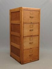 ANTIQUE LEGAL SIZED TIGER OAK FILE CABINET BY LIBRARY BUREAU MAKERS