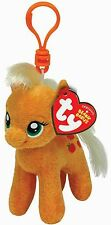 Ty Beanie Babies 41101 My Little Pony Applejack Caballo Clip clave